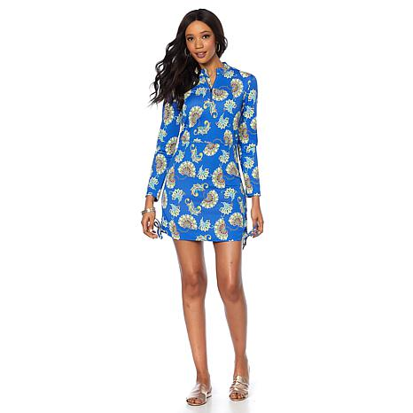 Caya Costa Ruched Tunic with UV Protection