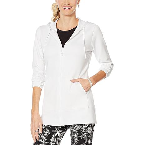 Caya Costa Zip-Front Sun Hoodie with UV Protection