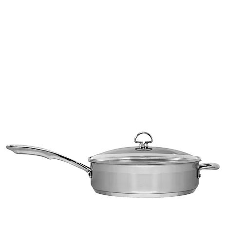 Chantal Induction 21 1.5-Quart Stainless Steel Skillet