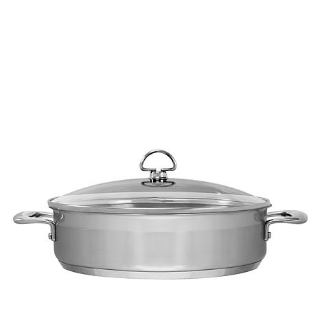 Chantal Induction 21 5-Quart Stainless Steel Sautéuse