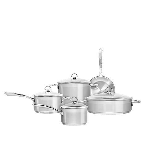 Chantal Induction 21 9-piece Stainless Steel Set