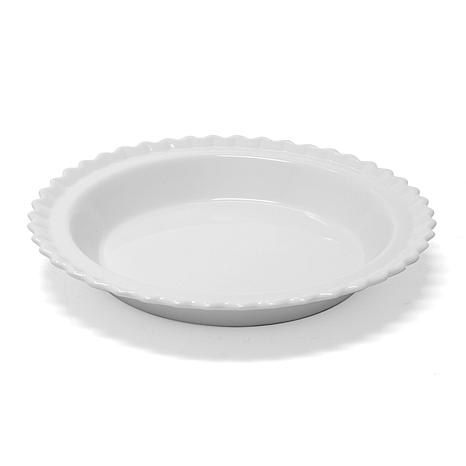 "Chantal Set of 2 Classic 9"" Pie Dishes"