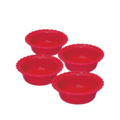 "Chantal Set of 4 Individual 5"" Pie Dishes"