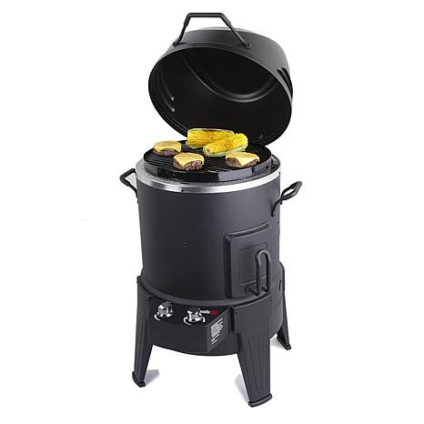 Char-Broil TRU-Infrared 3-in-1 Roaster, Smoker and Grill w/Rib Hooks