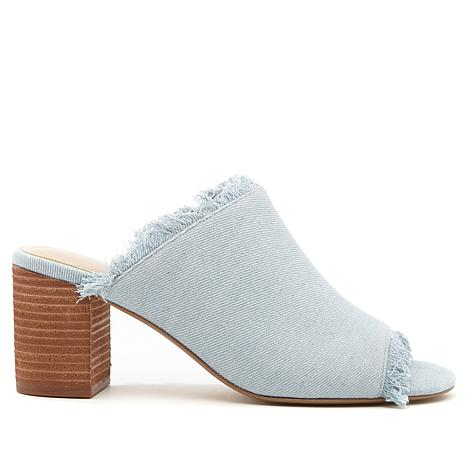 Charles by Charles David Kadia Fringed Open-Toe Mule