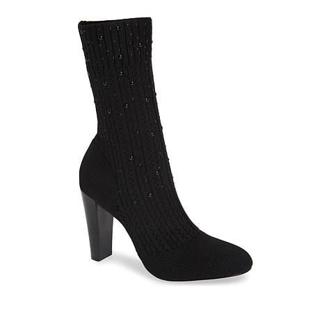 Charles by Charles David Sky Knit Sock Bootie