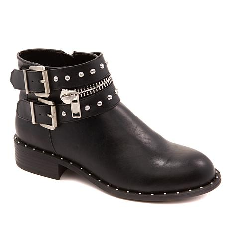 581b38dd5162 Charles by Charles David Thief Buckled Moto Bootie - 8842331