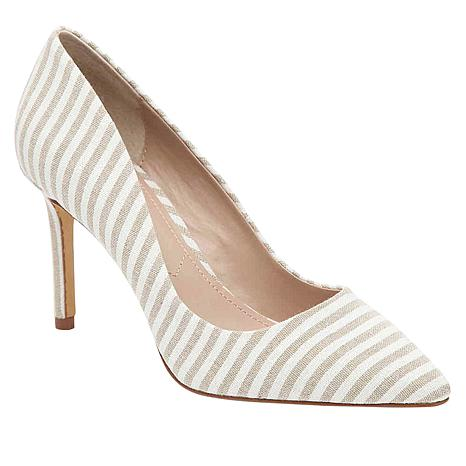 Charles by Charles David Vicky Striped Linen Pump