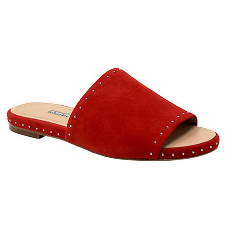 Charles David Sheriff Leather Slide Sandal