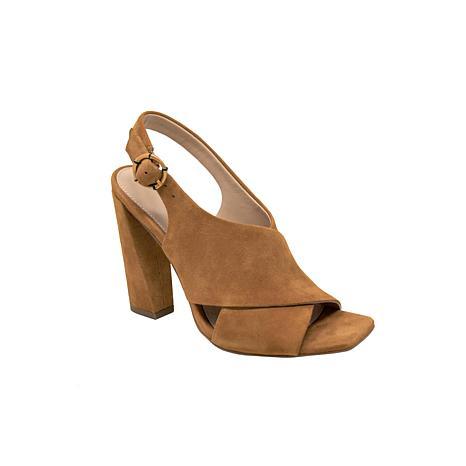 Charles David Vineyard Leather Heeled Sandal