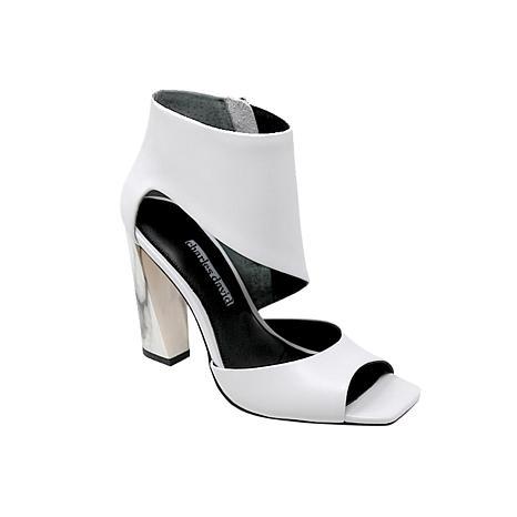 Charles David Volution Leather Block-Heel Sandal