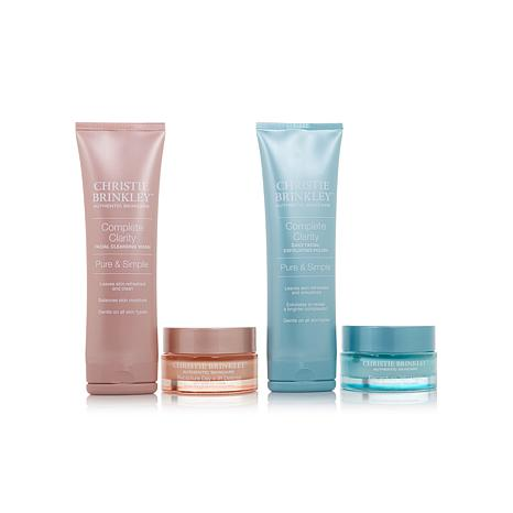 Christie Brinkley 4-piece Skin Care Essentials Set