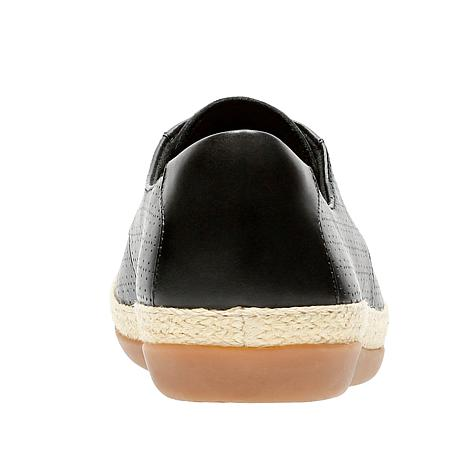 fc5877dfd270 Clarks Danelly Millie Perforated Leather Shoe - 8791838