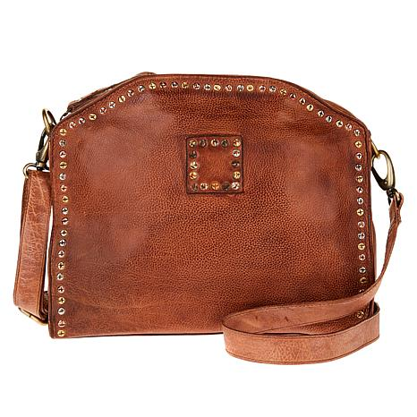 Clever Carriage Antique Equestrian Leather Satchel