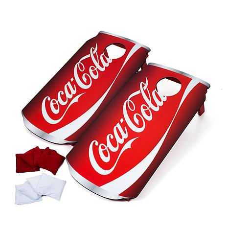 Coca-Cola Can Cornhole Bean Bag Toss Game