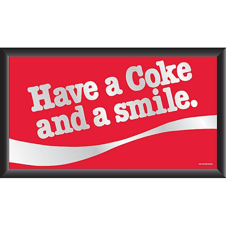 Vintage Quot Have A Coke And A Smile Quot Horizontal Mirror