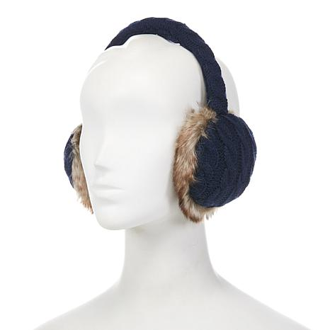 Collection 18 Cable Knit Earmuffs