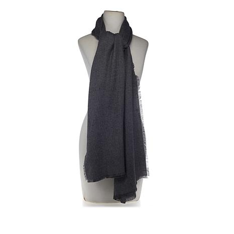 Collection 18 Oversized Textured Scarf Wrap