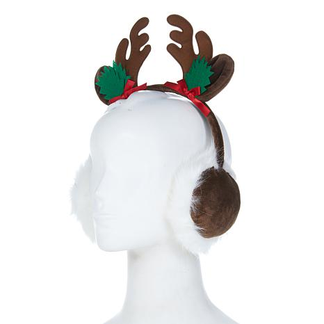 Collection 18 Reindeer Holiday Earmuffs
