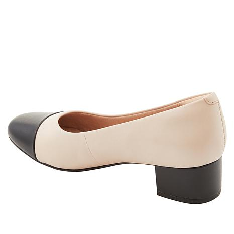 619ce9924d Collection by Clarks Chartli Diva Leather Pump - 8896933 | HSN