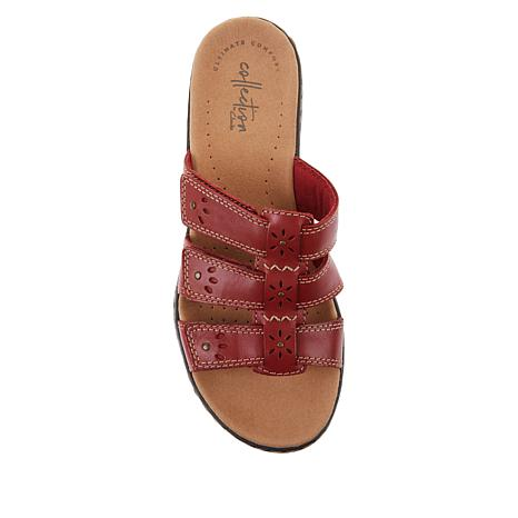 f75e291f0523 Collection by Clarks Leisa Spring Leather Slide - 8907036