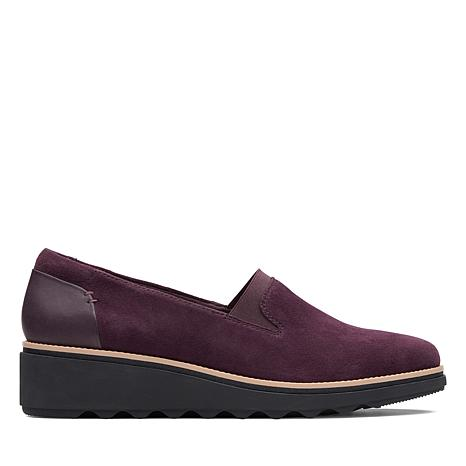 Collection by Clarks Sharon Dolly Suede Slip-On Loafer