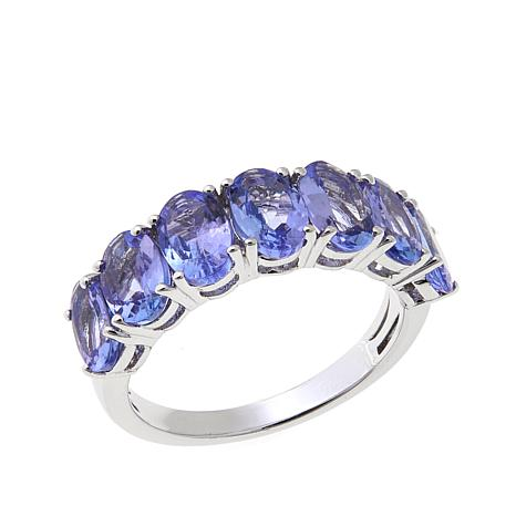 Colleen Lopez 3.15ctw Gem 7-Stone Band Ring