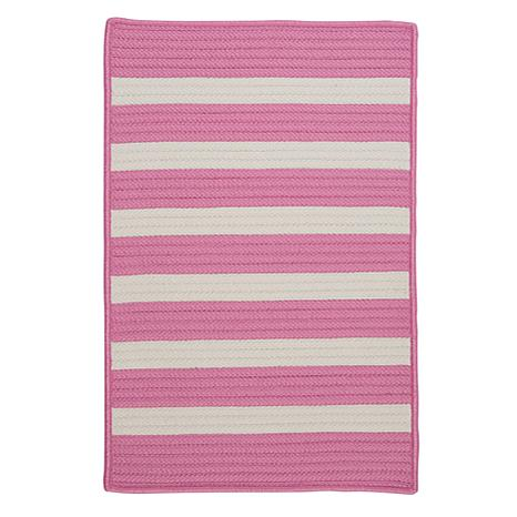 Colonial Mills Stripe It 2' x 3' Rug - Bold Pink