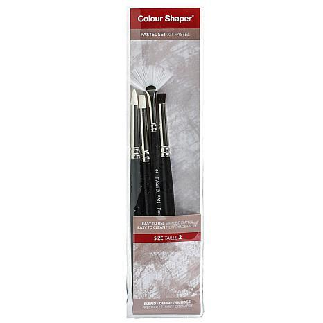 Colour Shaper Painting Tool and Pastel Blending Set Assorted 4-pack