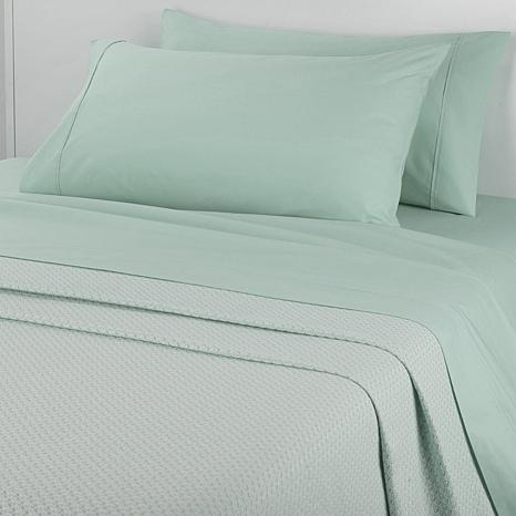 Concierge 100% Cotton Sheet and Blanket Combo