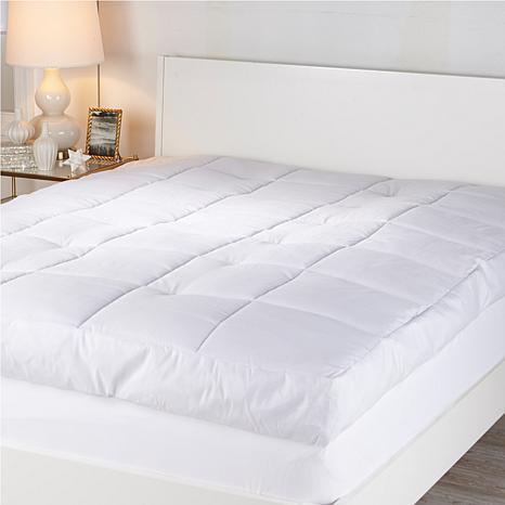 Concierge Collection 6 Featherbed With Skirt 7904301 Hsn