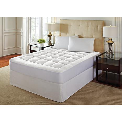 Concierge Collection High-Loft Memory Foam Cal King Mattress Pad
