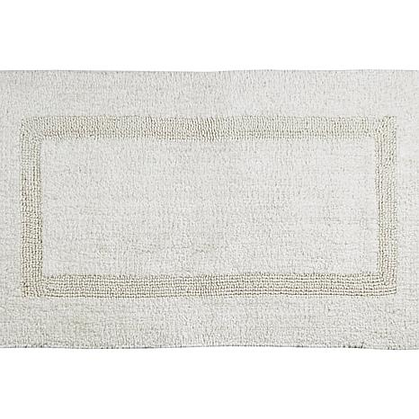 Concierge Collection Lux Reversible 2pc Bath Rug Set