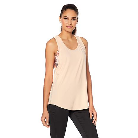 Copper Fit™ 2-Fer Racerback Tank with Sports Bra