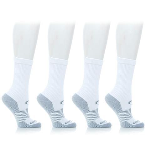Copper Fit™ 4-pack Calf Socks - 8209142 | HSN