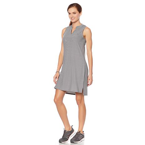 Copper Fit™ V-Neck Stretch Knit Dress