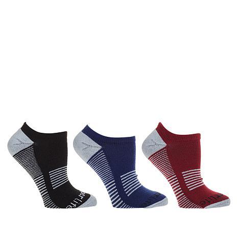 Copper Life 3-pack Men's Low-Cut Compression Socks