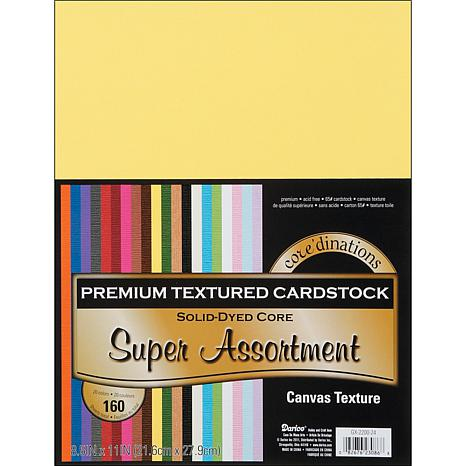 """Core'dinations Cardstock 8.5""""W x 11""""L  - 160-pack"""