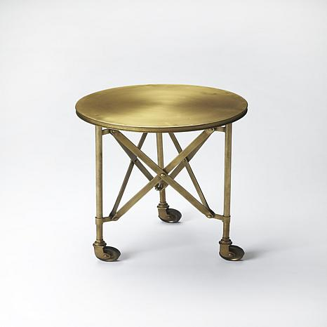 Costigan Antique Gold Accent Table in Gold