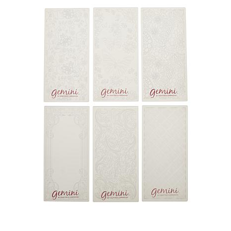 Crafter's Companion 3D Mini Embossing Folders