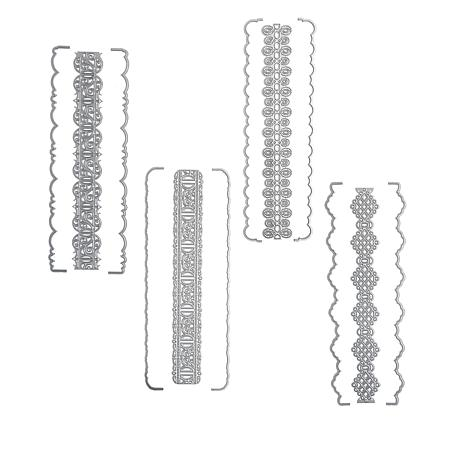 Crafter's Companion 4-pack Lace Ribbon Threading Dies