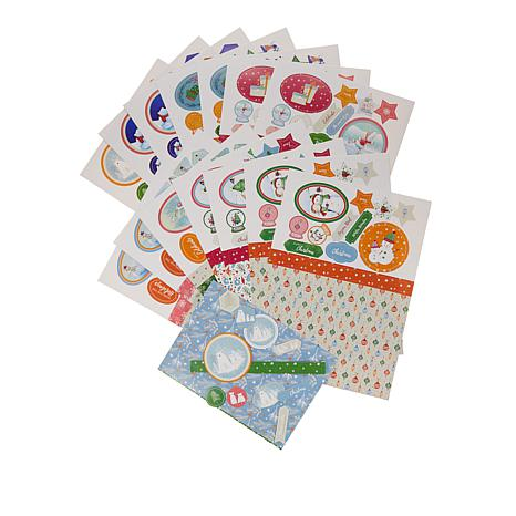 Crafter's Companion Christmas Card Companion Kit - Cute