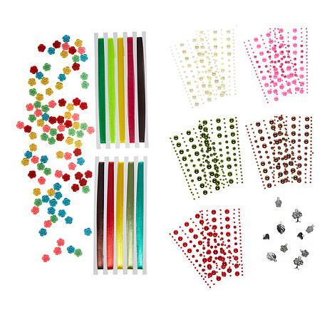 Crafter's Companion Colorful Embellishments