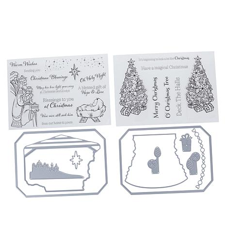 Crafter's Companion Gemini Christmas Photo Frame Stamp and Dies
