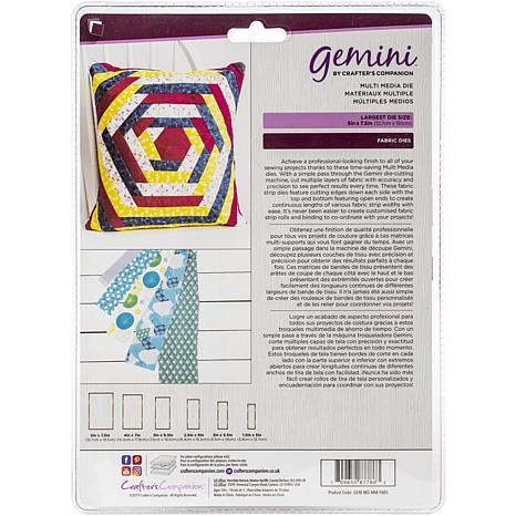 Crafter's Companion Gemini Patchwork Dies - Fabric Strips