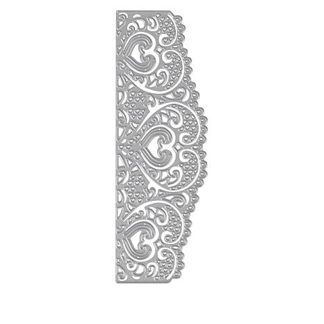 Crafter's Companion Heart Lace Edge'ables Die