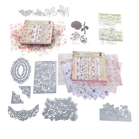 Crafter's Companion Rose Garden Papercraft Kit