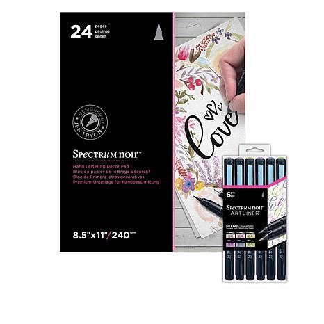 Crafter's Companion Spectrum Noir Artliner Bundle - Soft & Subtle