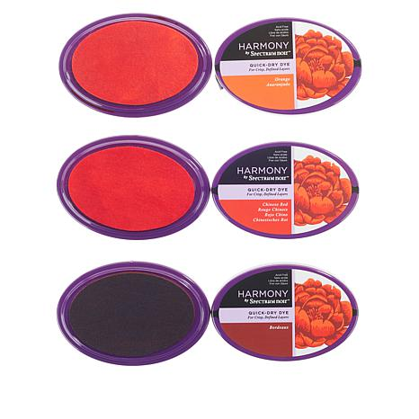 Crafter's Companion Spectrum Noir Quick Drying Ink 3-pack