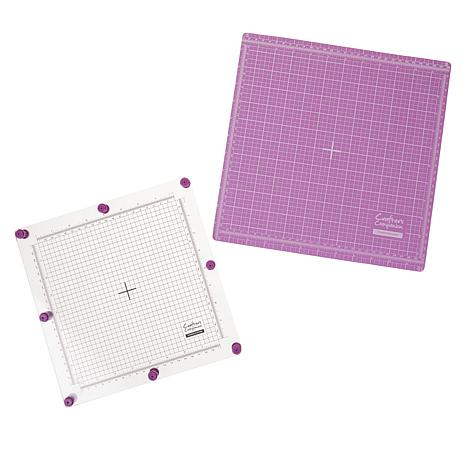 Crafters Companion 8 x 8 Stamping Platform and Magnetic Base